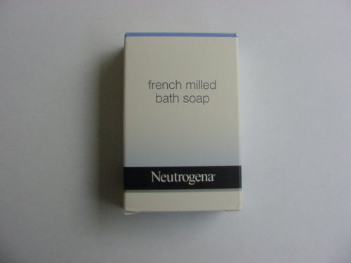 Neutrogena French Milled Soap. Lot of 22 each 1.75 oz Bars. 38.5oz Total