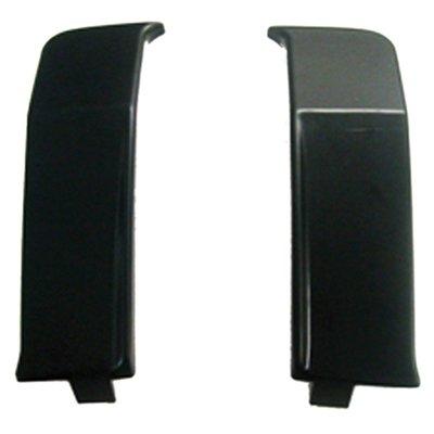 Goodmark Driver and Passenger Bumper Filler Rear for 76-77 Oldsmobile Cutlass