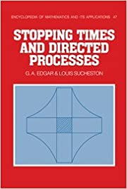 Book Stopping Times and Directed Processes (Encyclopedia of Mathematics and its Applications)