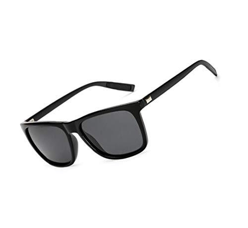 Hommes Lunettes Cool plein de sports de protection Black Femmes voyager en soleil polarisées UV400 Mode lunettes la de Huyizhi air conduite 45FwqI4