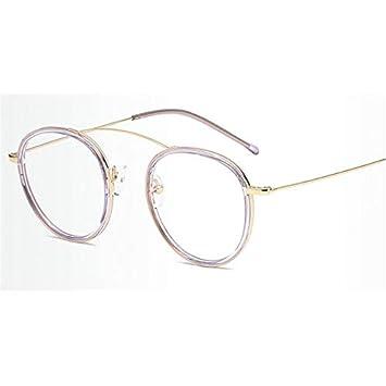 4e5952d3da KathShop New Brand Design Plain Glasses Alloy Frame Women Glass Classic  Round Clear Lens Spectacles Elegant Vintage Eyewear  Amazon.ca  Home    Kitchen