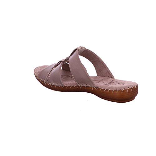 Taupe Jana Liv Beige Sandals Confort Mules Tnz6gxSUn
