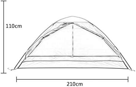 LCSHAN Tienda al Aire Libre 2-3 Personas Camping Inicio Anti-tormenta Engrosamiento Protección UV