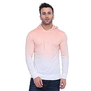 31R9cSnr6gL. SS320 GRITSTONES Tan dye Hooded T-Shirt GSHDOMB2029-P