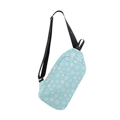 Snowflake Men For Bags Crossbody Bennigiry One Sling Bag Shoulder Backpack Chest Women amp; RAvwOvx