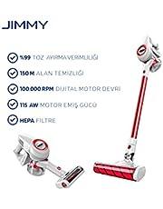 Jimmy Jimmy JV51 Odkurzacz Bezprzewodowy, 400 W, 0.5 L, Czerwony