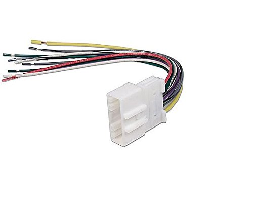 amazon com scosche radio wiring harness for 2007 up nissan car scosche radio wiring harness for 2007 up nissan car stereo connector