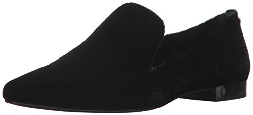 Calvin Klein Women's Elin Loafer Flat, Black, 10 Medium US by Calvin Klein
