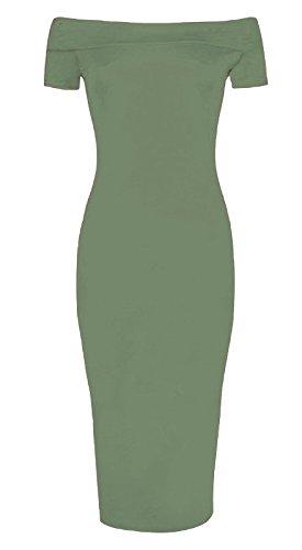 Funky Fashion Shop Damen Rock Khaki NufqP - potion.alina-vogt.de 146f62f524