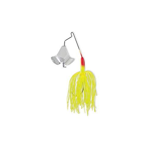 (Strike King Lures DB14-1 Buzz Bait Lure, 1/4 oz, Chartreuse, per 1)
