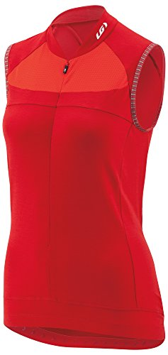 Louis Garneau Women's Beeze 2 Sleeveless Cycling Jersey, Barbados Cherry, Medium Louis Garneau Sleeveless Jersey