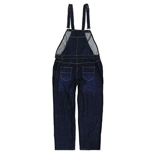 Abraxas 12xl Jusqu'au Grandes En Jean Bleu Salopette By Foncé Tailles aOwaF