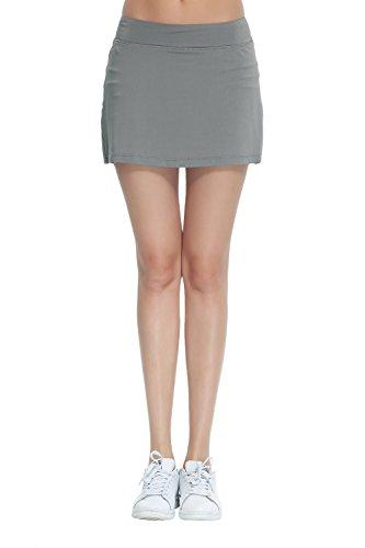 Honour Fashion Women's Golf Underneath Shorts Skorts (Grey, Small) (Women Golf Sale)