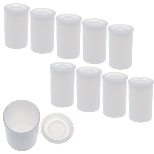 bcp-pack-of-10pcs-white-color-plastic-film-canisters-for-35mm-film