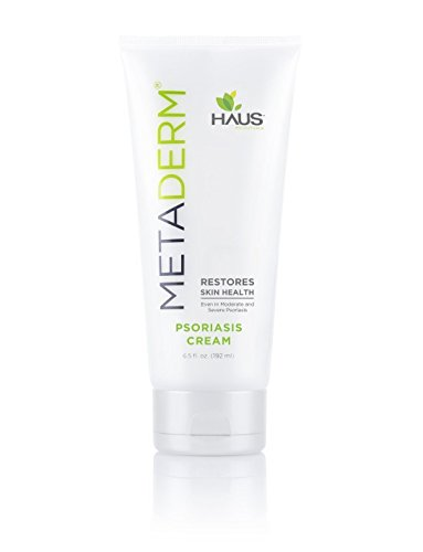 MetaDerm Psoriasis Cream Proven to Naturally Heal Itchy Flakey Inflamed Skin and Prevent Future Flares (6.5 oz.)