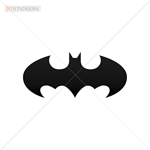 Decal Halloween Batman Car window jet ski (12 X 5,28 In. ) Vinyl color Black ()
