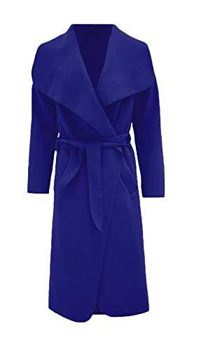 longues Manteau manches à Royal Comfiestyle pour imperméable femmes 4IwHHqF