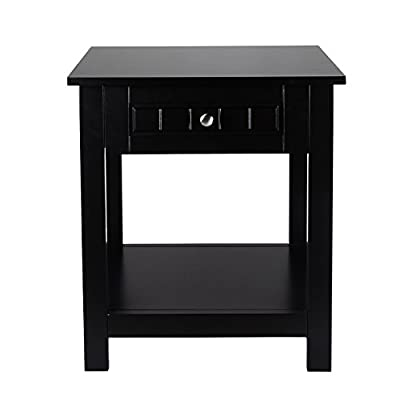 ELEGAN Accent Drawer End Table