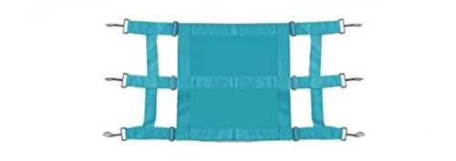 Showman Heavy Duty TEAL Webbed Nylon Solid Front Stall Guard Horse Pony Adjusts (Horse Stall Guard)