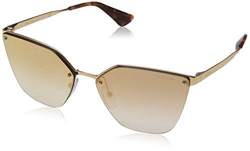 Prada Women's 0PR 68TS Rose Gold/Mirror Rose Gradient One Size