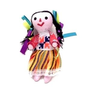 amazon com leos imports mexican rag doll 5 6 tall home kitchen