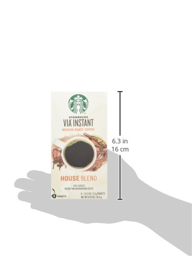 Starbucks VIA Instant Coffee, House Blend, 96 Count by Starbucks (Image #6)