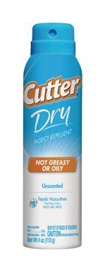 Cutter Dry Insect Repellent Pack of 3