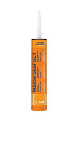 MasterSeal SL 1 - Quantity of 6 Quart Cartridges (Gray) by BASF SL 1