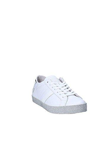 Donna Hill Print 40 a Sneakers Pelle D t Low Scarpa 26784 Bianco Glitter e Bwqn8pt