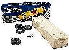 (Scout Derby Grand Prix Pinewood Derby Car Kit)