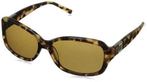Kate Spade Women's Annikps Polarized Rectangular Sunglasses,Camel Tortoise,56 - Shell Amazon Sunglasses Tortoise