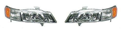 99 00 01 02 03 04 Honda Odyssey Headlight Headlamp Pair Set Driver and Passenger (01 02 03 04 Headlamp)