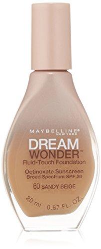Maybelline New York Dream Wonder Fluid-Touch Foundation, Sandy Beige, 0.67 Fluid Ounce