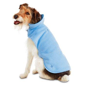 Good2Go Warm & Waggin Cozy Dog bluee bluee Reversable JacketMEDIUM LARGE