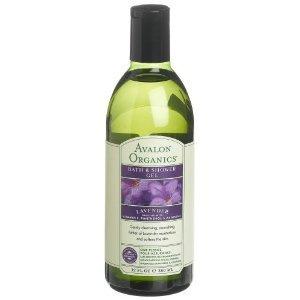 Bain Avalon Organics Lavender Gel Douche, 12-Ounce Bottle (Pack de 2)