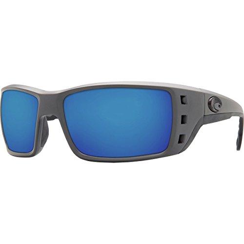 Costa Del Mar Permit 580P Permit, Matte Gray Blue Mirror, Blue - Costa Permit