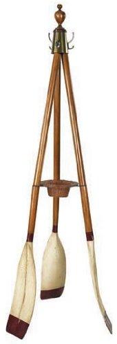 Decorative Wooden Oar Coat Rack - Oxford Varsity