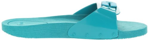 Scholl POP F23708 Unisex-Erwachsene Clogs & Pantoletten Blau (Octane 1273)