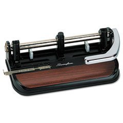 40Sheet HeavyDuty Lever Action Two to SevenHole Punch 11/32 Holes
