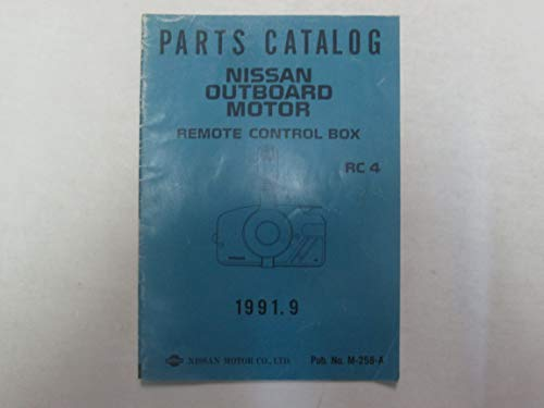 1991 Parts Catalog Nissan Outboard Motor Remote Control Box RC 4 M-258-A ***