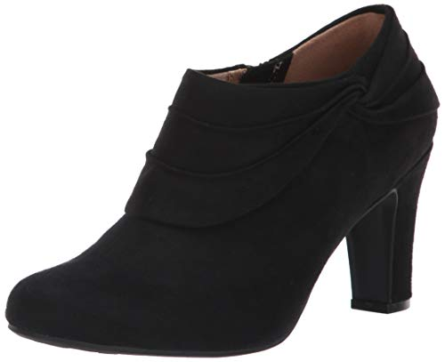 LifeStride Women's Corie Ankle Boot, Black, 9 M US