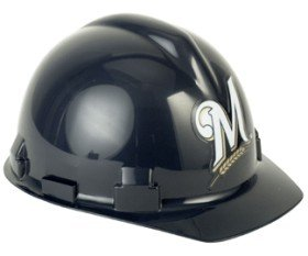 Milwaukee Brewers Hard Hat by Wincraft