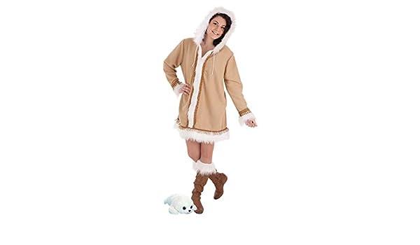 LLOPIS - Disfraz Adulto Esquimal Mujer: Amazon.es: Juguetes y juegos