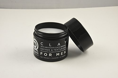 Bentonite Hair Clay Wax Pomade | Rodante for Men | Texture Matte Paste Finished | Beeswax Moisturizer | Detox & PH Balance | No Alcohol & Parabens. Made in USA 2 o by Premium Brand Rodante Beverly Hills for Men (Image #2)