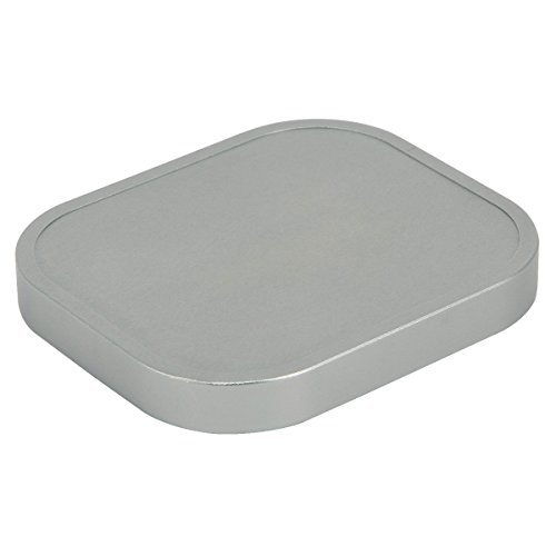 Haoge Square Metal Cover Cap for Haoge Specific Square Lens Hood Silver
