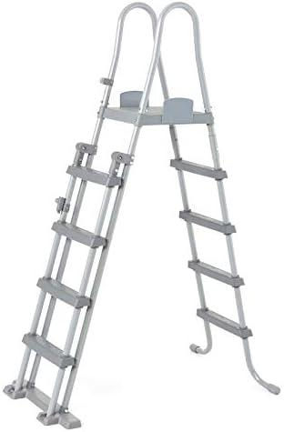 Bestway 58332 - Escalera para Piscina Desmontable 132 cm: Amazon ...