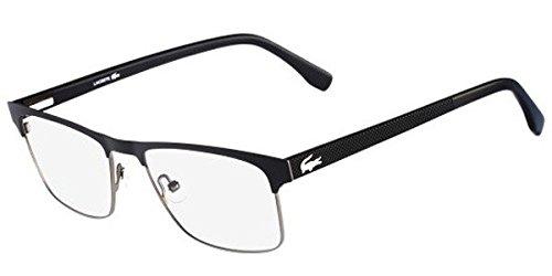 - New Lacoste Men's Eyeglasses L2198 001 5518 55 MM Glasses