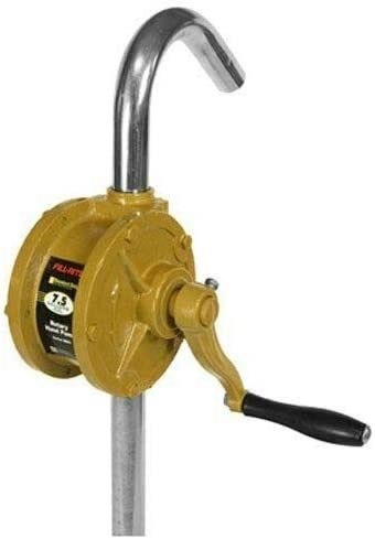 PLASTILINUM Fill-Rite SD62 Hand Pump Rotary 2-Vane Curved Spout