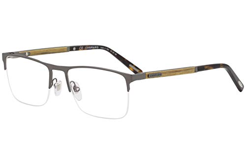 627 Glasses - Eyeglasses Chopard VCHB 74 V Gunmetal Wood 627L