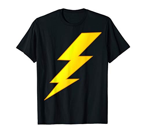 Lightning Bolt last minute Halloween costume shirt